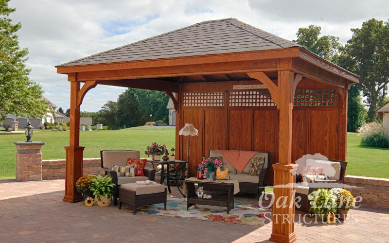 Spice Up Your Backyard With A Pavilion Pergola Or Gazebo